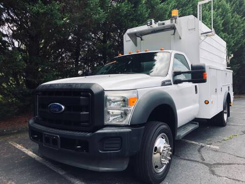 2011 Ford F-550 Super Duty for sale at Lenoir Auto in Lenoir NC