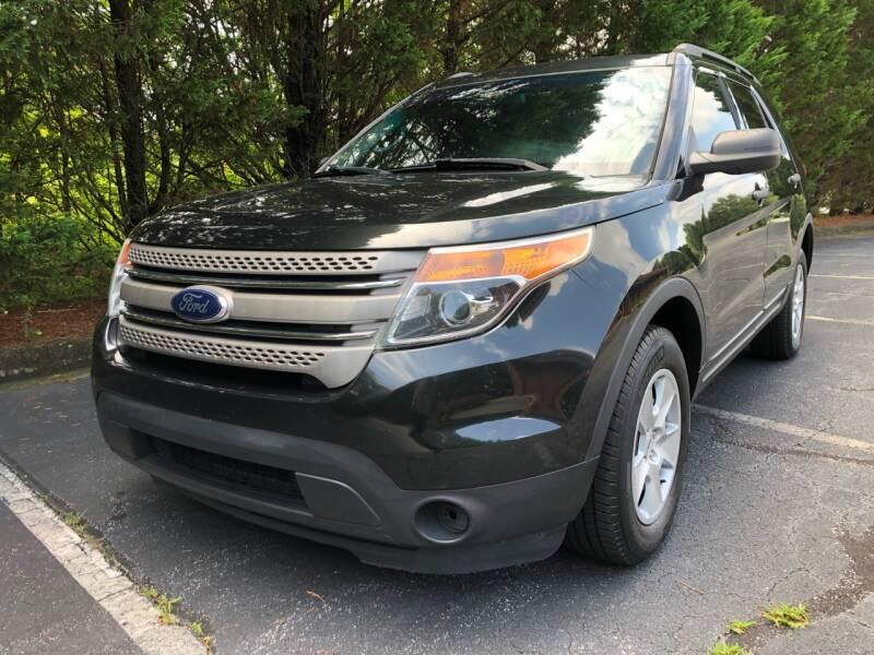 2013 Ford Explorer for sale at Lenoir Auto in Lenoir NC