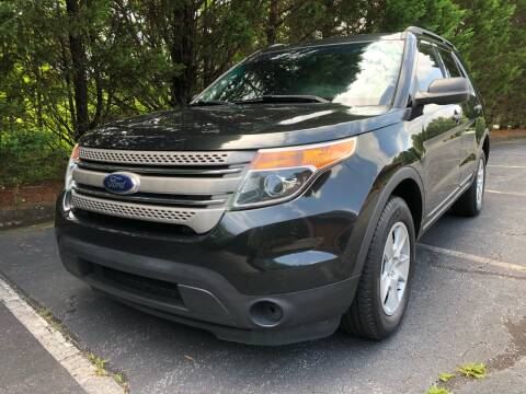 2013 Ford Explorer for sale at Lenoir Auto in Lenoir NC