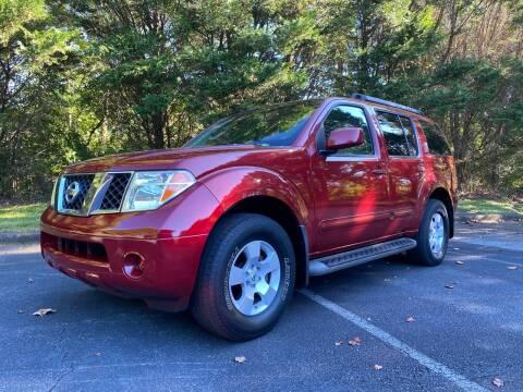 2007 Nissan Pathfinder for sale at Lenoir Auto in Lenoir NC