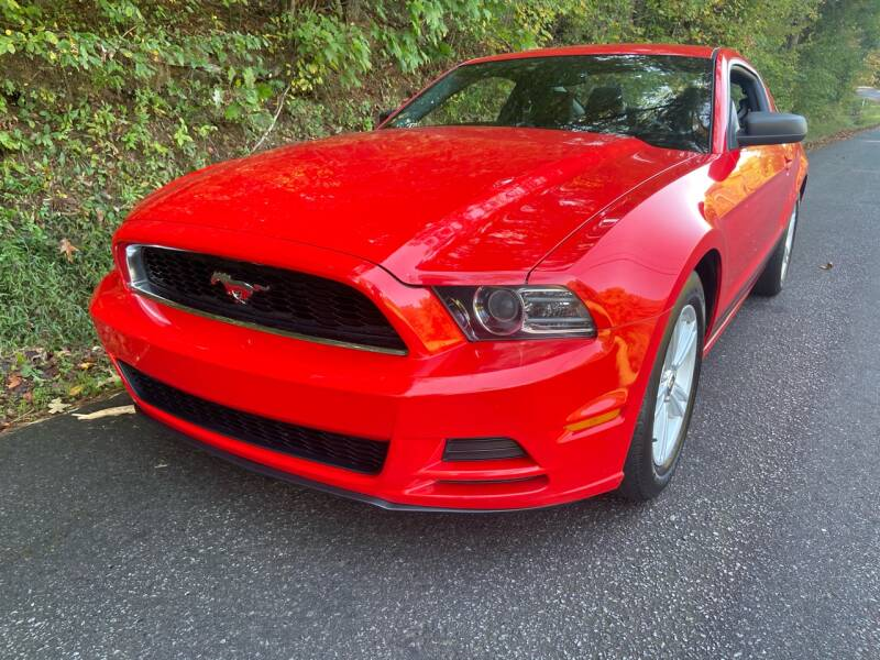 2013 Ford Mustang for sale at Lenoir Auto in Lenoir NC
