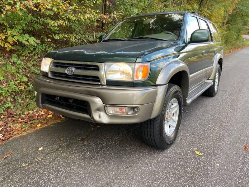 2000 Toyota 4Runner for sale at Lenoir Auto in Lenoir NC