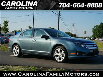2012 Ford Fusion for sale in Mooresville, NC