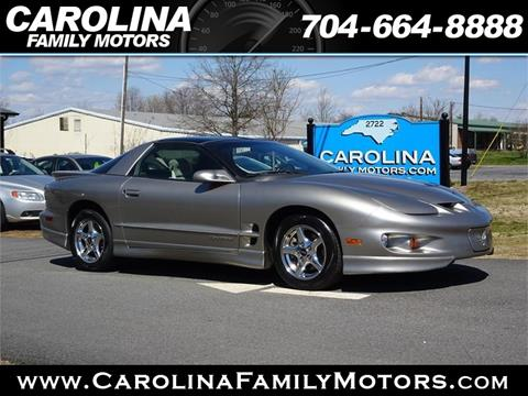 2001 Pontiac Firebird for sale in Mooresville, NC