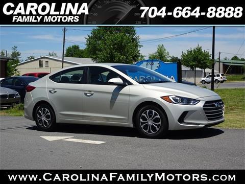 2017 Hyundai Elantra for sale in Mooresville, NC