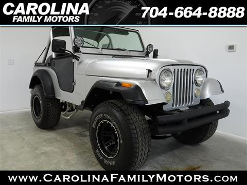 1981 Jeep CJ-5 for sale in Mooresville, NC