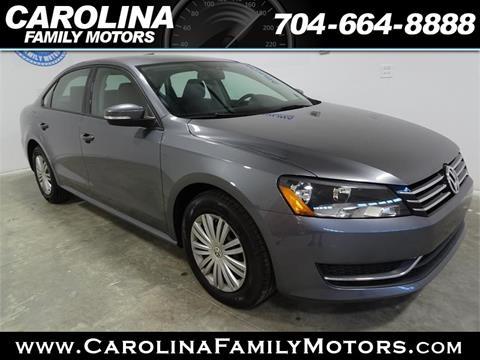 2015 Volkswagen Passat for sale in Mooresville, NC