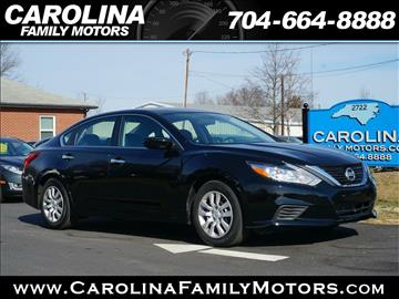 2016 Nissan Altima for sale in Mooresville, NC