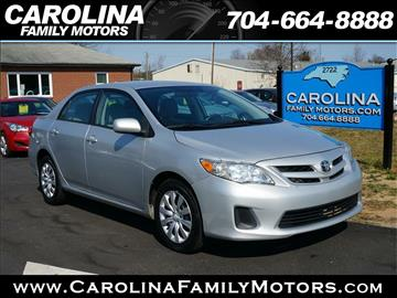 2012 Toyota Corolla for sale in Mooresville, NC