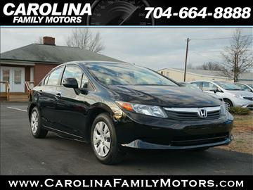 2012 Honda Civic for sale in Mooresville, NC