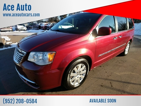 2015 Chrysler Town and Country Touring for sale at Ace Auto in Jordan MN