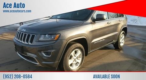 2016 Jeep Grand Cherokee Laredo for sale at Ace Auto in Jordan MN