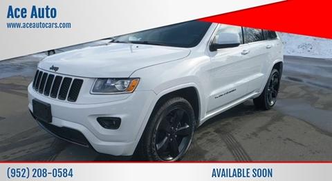 2014 Jeep Grand Cherokee Laredo for sale at Ace Auto in Jordan MN