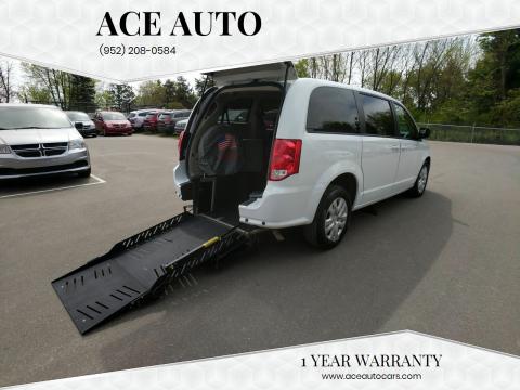 2018 Dodge Grand Caravan for sale at Ace Auto in Jordan MN