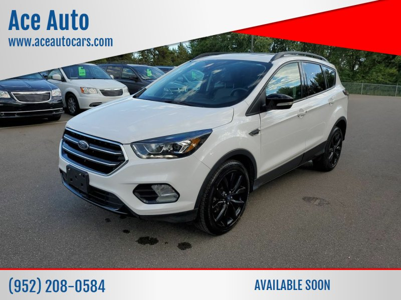 2017 Ford Escape for sale at Ace Auto in Jordan MN
