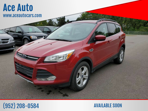 2014 Ford Escape for sale at Ace Auto in Jordan MN
