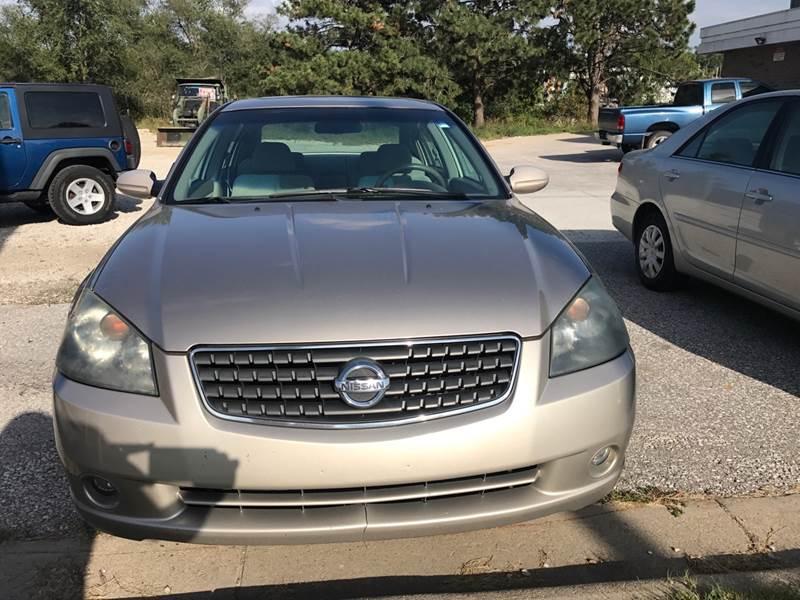 2005 Nissan Altima 35 Se 4dr Sedan In Springfield Ne Pz Motors
