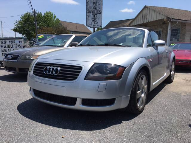 2002 Audi TT for sale at Waltz Sales in Gap PA