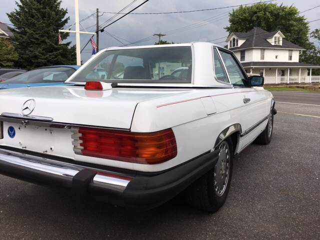 1987 Mercedes-Benz 560-Class for sale at Waltz Sales in Gap PA