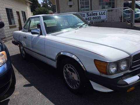 1987 Mercedes-Benz 560-Class for sale in Gap PA