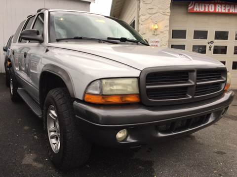 2002 Dodge Durango for sale in Gap, PA