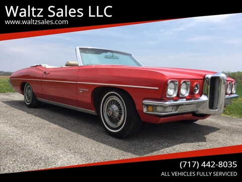 1970 Pontiac Catalina for sale in Gap, PA