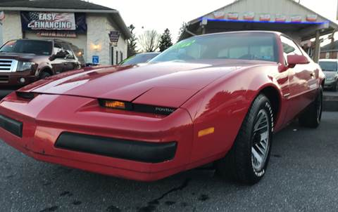 1987 Pontiac Firebird for sale in Gap, PA