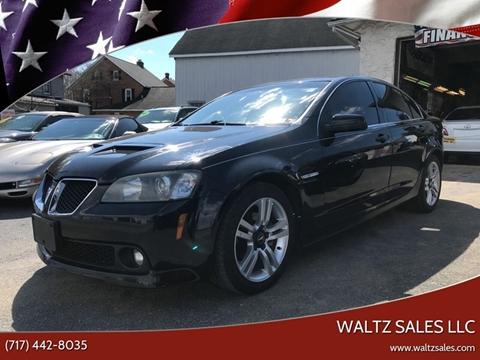 2008 Pontiac G8 for sale in Gap, PA