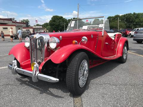 1953 MG TD for sale in Gap, PA