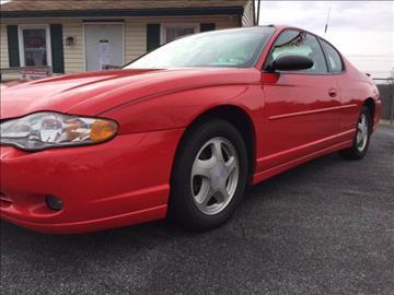 2001 Chevrolet Monte Carlo for sale in Gap, PA