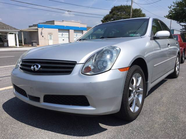 2006 Infiniti G35 for sale at Waltz Sales in Gap PA
