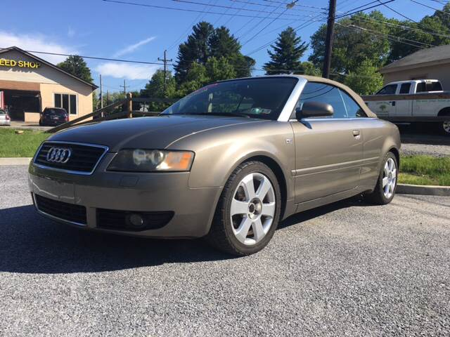 2006 Audi A4 for sale at Waltz Sales in Gap PA