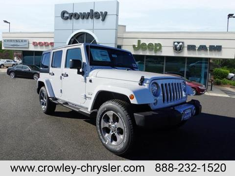 2017 Jeep Wrangler Unlimited for sale in Bristol, CT