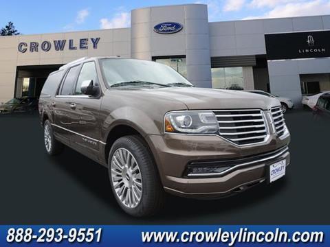 2017 Lincoln Navigator L for sale in Plainville, CT
