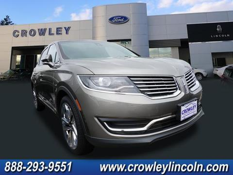 2017 Lincoln MKX for sale in Plainville, CT