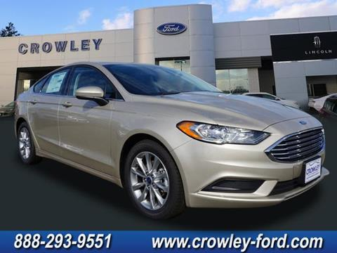 2017 Ford Fusion for sale in Plainville CT