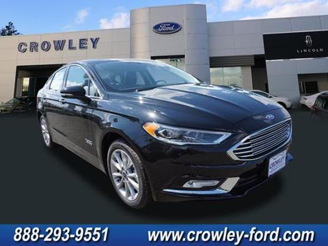 2017 Ford Fusion Energi for sale in Plainville, CT