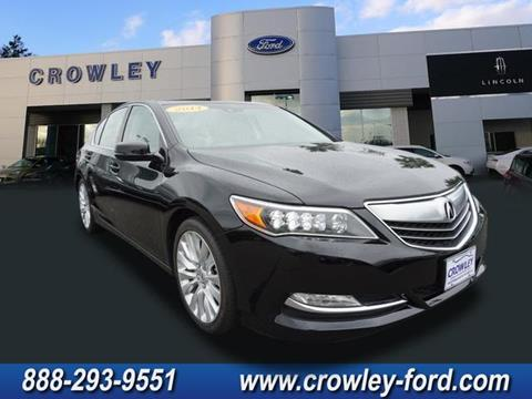 2014 Acura RLX for sale in Plainville CT