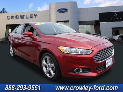 2014 Ford Fusion for sale in Plainville CT