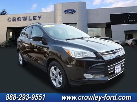 2014 Ford Escape for sale in Plainville, CT