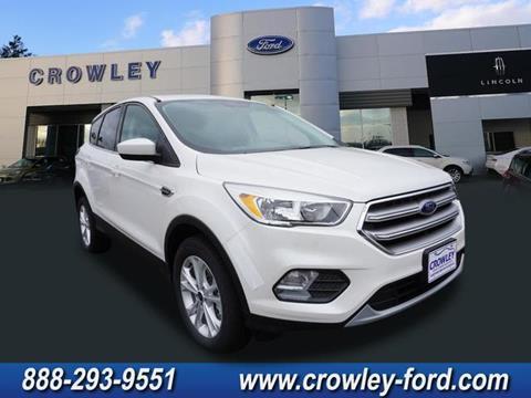 2017 Ford Escape for sale in Plainville CT