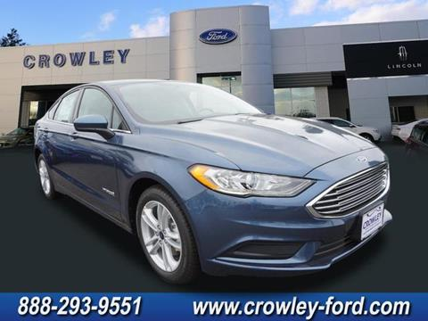 2018 Ford Fusion Hybrid for sale in Plainville, CT