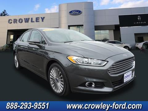 2015 Ford Fusion for sale in Plainville CT