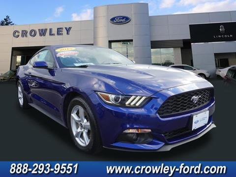 2015 Ford Mustang for sale in Plainville CT