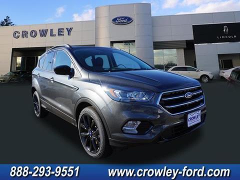2018 Ford Escape for sale in Plainville CT