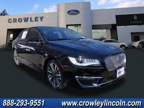 2018 Lincoln MKZ for sale in Plainville CT
