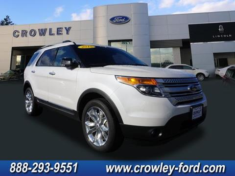 2015 Ford Explorer for sale in Plainville, CT