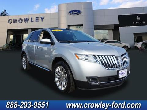 2013 Lincoln MKX for sale in Plainville CT