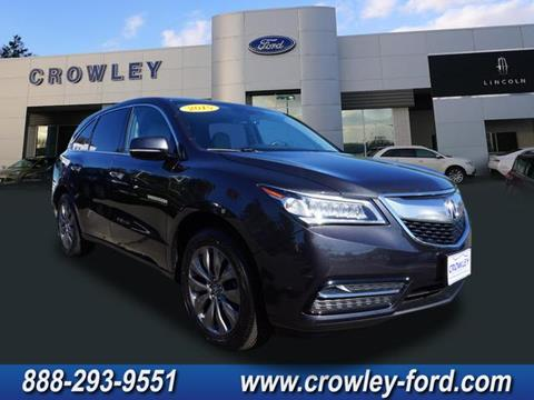 2015 Acura MDX for sale in Plainville CT