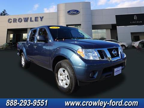 2013 Nissan Frontier for sale in Plainville CT